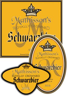 Crown Beer Labels