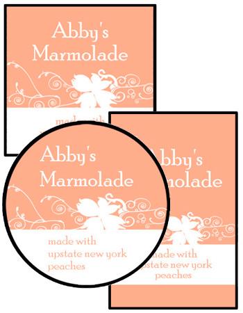 Curlicue Food and Craft Label