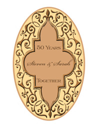 Romanticism anniversary Labels