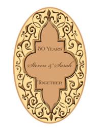 Romanticism anniversary Labels