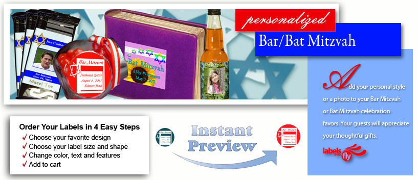 Personalize Your Bar-Bat Mitzvah