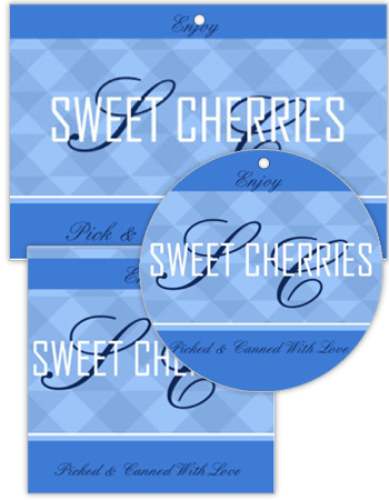Natural Canning Favor Tags