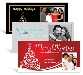 Christmas trees cards for sale custom christmas tree cards 8 shapes sizes 8 x 4 decorated tree christmas cards with photo family style colourmoves
