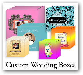 Custom Wedding Favor Boxes