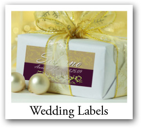 Bridal Shower Candle Labels, Wedding labels