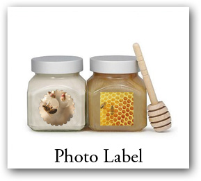 Custom bath and body products stickers