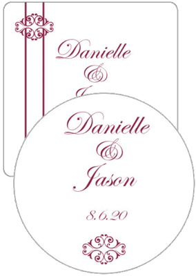 Decor Wedding Coasters