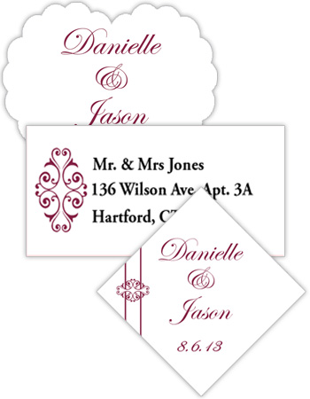 Decor Wedding Labels