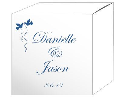 Doves Favor Boxes