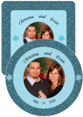 Empire Wedding Coasters