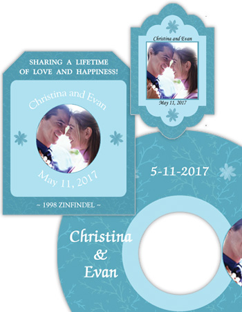 Empire Wedding Labels