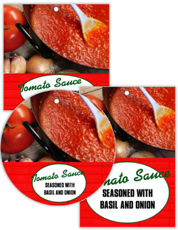 Farm Land Canning Favor Tags