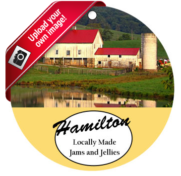 Farm Land Photo Food and Craft Hang Tags