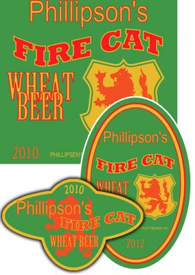 Fire Beer Label