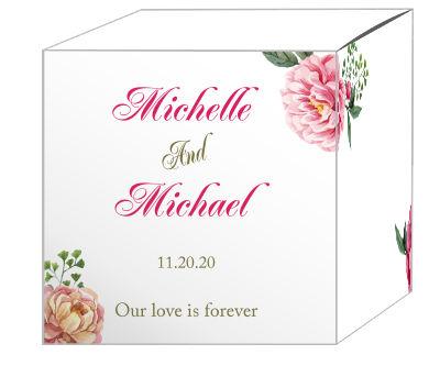 Floral Elegant Summer Poppy Favor Boxes