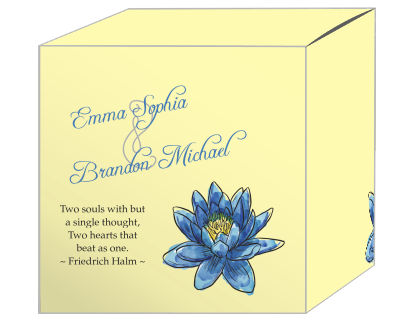 Floral Fairytale Flower Favor Boxes