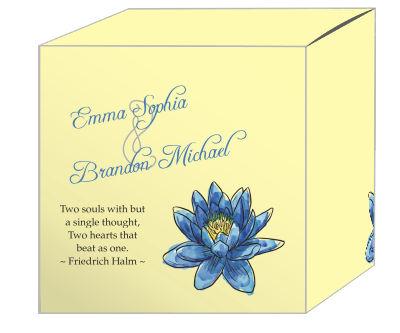 Floral Fairytale Flower Favor Boxes