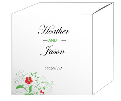 Flower Favor Boxes