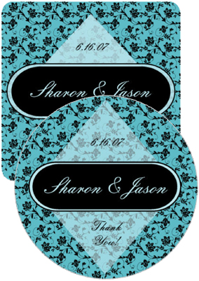 Floral Wedding Coasters