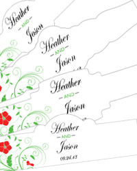 Flowers Cigar Band Labels