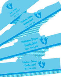 Footprints Baby Cigar Band Labels