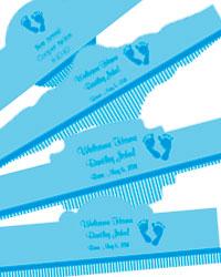 Footprints Baby Cigar Band Labels