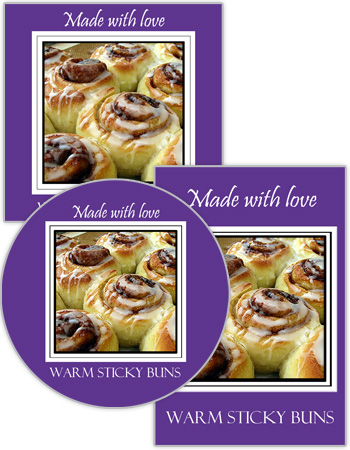 Fresh Baked Food and Craft Label