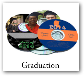 Graduation CD DVD Labels