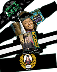 Graduation Cigar Bands