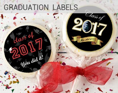 graduations labels and graduations stickers