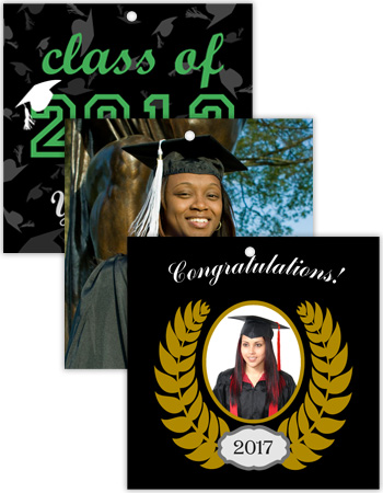 Square Graduation Hang Tag