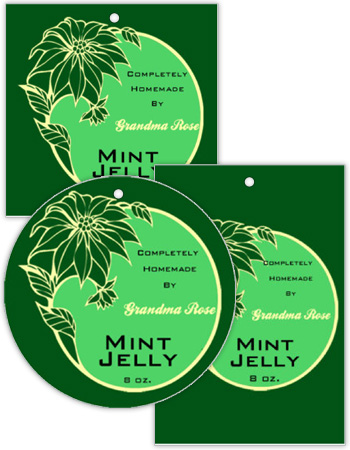 Hawaiian Canning Favor Tags