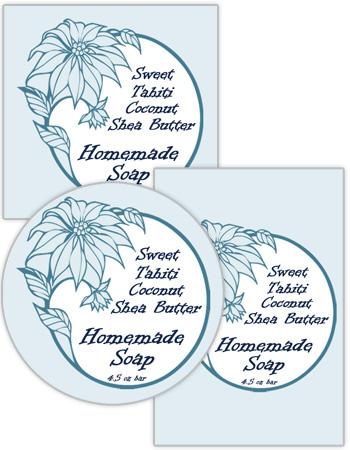 Hawaiian Food and Craft Label