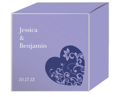 Hearts of Love Favor Boxes