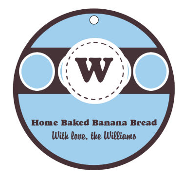 Home Baked Food Tags and Craft Hang Tags
