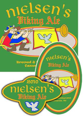 Horn Beer Labels