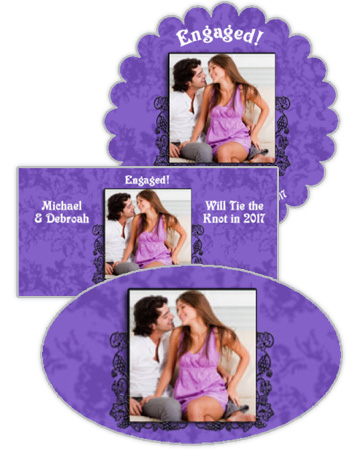 Iron Vine Wedding Labels