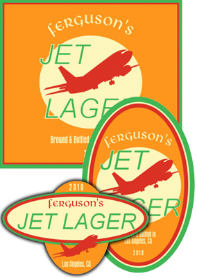 Jet Beer Labels