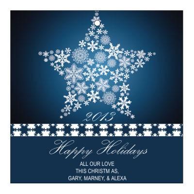 Large Star Christmas Hang Tags