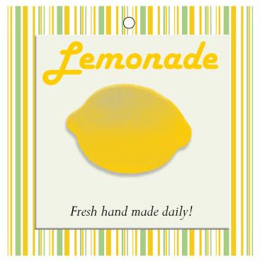 Lemonade Food and Craft Hang Tags