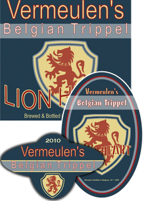 Lion Beer Labels