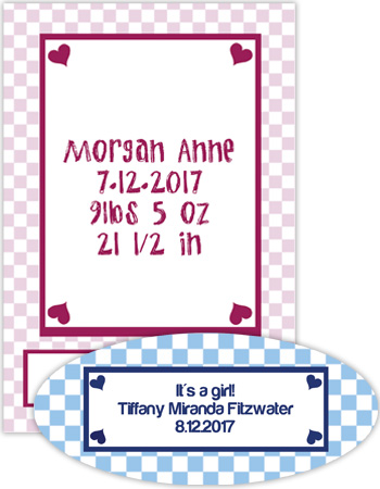 Baby Little Love Labels