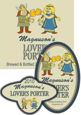 Lovers Beer Labels