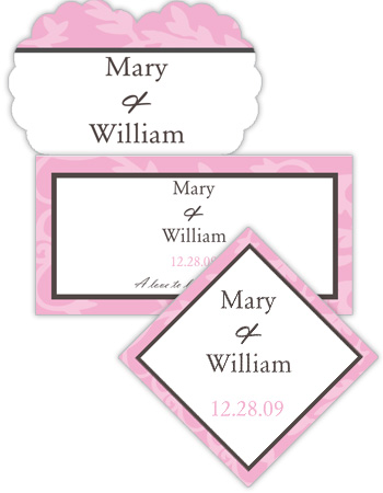 Magnolia Wedding Labels