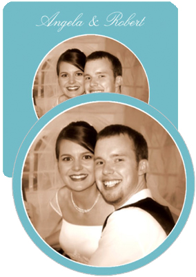 Memorable Wedding Coasters
