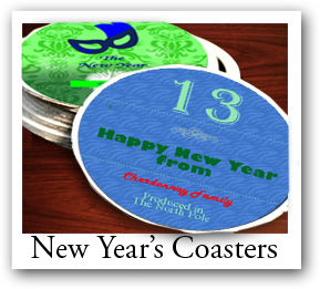 New Year Coasters