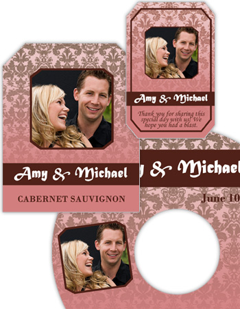 Nouveau Wedding Labels