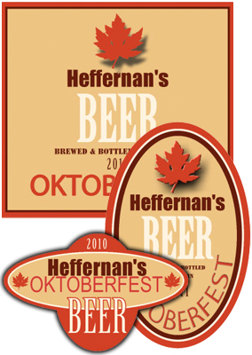 Oktober Beer Labels