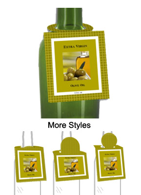 Olive Oil Bottle Tags