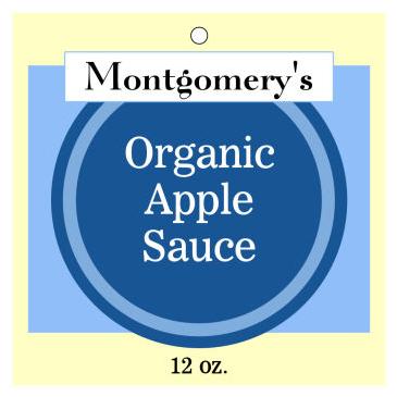 Organic Food and Craft Hang Tags